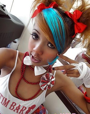 Emo Asian Teen