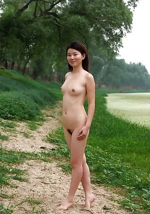 Outdoor Asian Teen