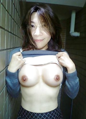 Public Asian Teen
