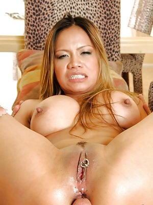 Piercing Asian Teen