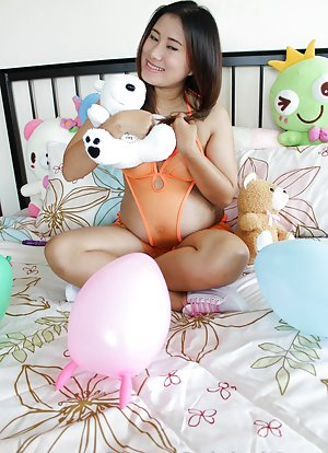 Pregnant Asian Teen