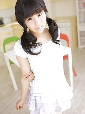Pigtails Asian Teen