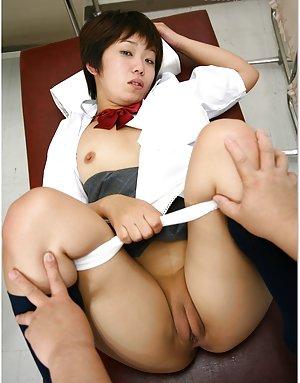 Split Asian Teen
