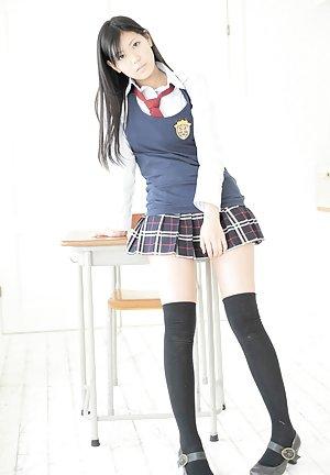 Stockings Asian Teen