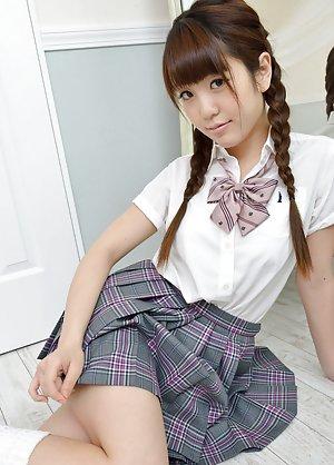 Uniform Asian Teen