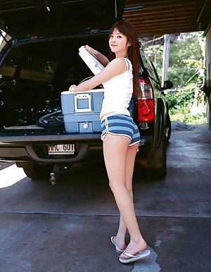 Shorts Asian Teen
