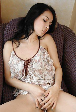 Masturbating Asian Teen