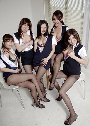 Pantyhose Asian Teen