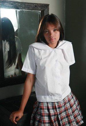College Girls Asian Teen