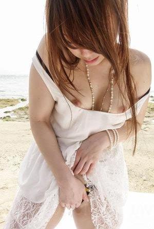 Beach Asian Teen