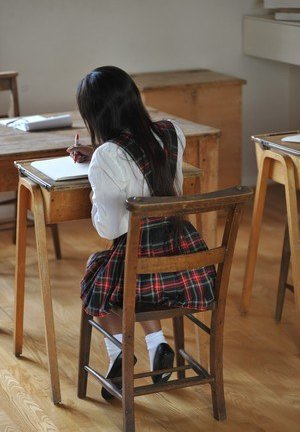 Schoolgirl Asian Teen