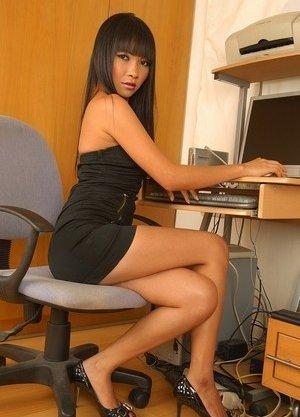 Office Asian Teen