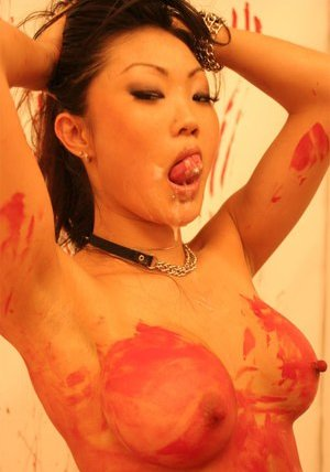 Tongue Asian Teen