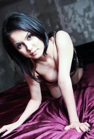 Brunette Asian Teen